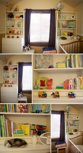 ikea hackers malm billy wall unit lovely idea for nursery a baby is coming pinterest. Black Bedroom Furniture Sets. Home Design Ideas