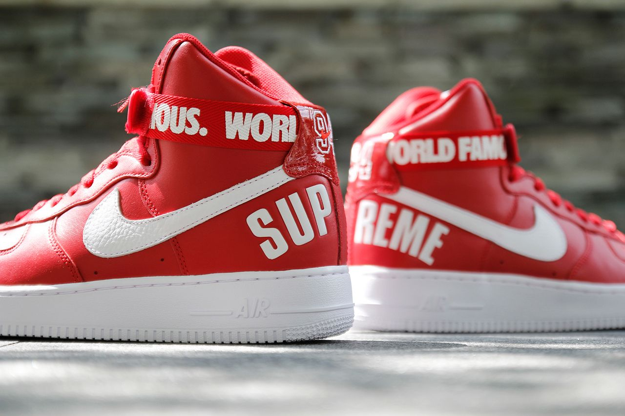 A Closer Look at the Supreme x Nike 2014 Fall/Winter Air Force 1