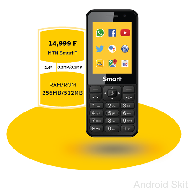 In 2018 Mtn Group Made Known Its Plan To Launch Smart Feature Phones In Its South African And Nigerian Markets B Feature Phone Dual Sim Phones T Mobile Phones