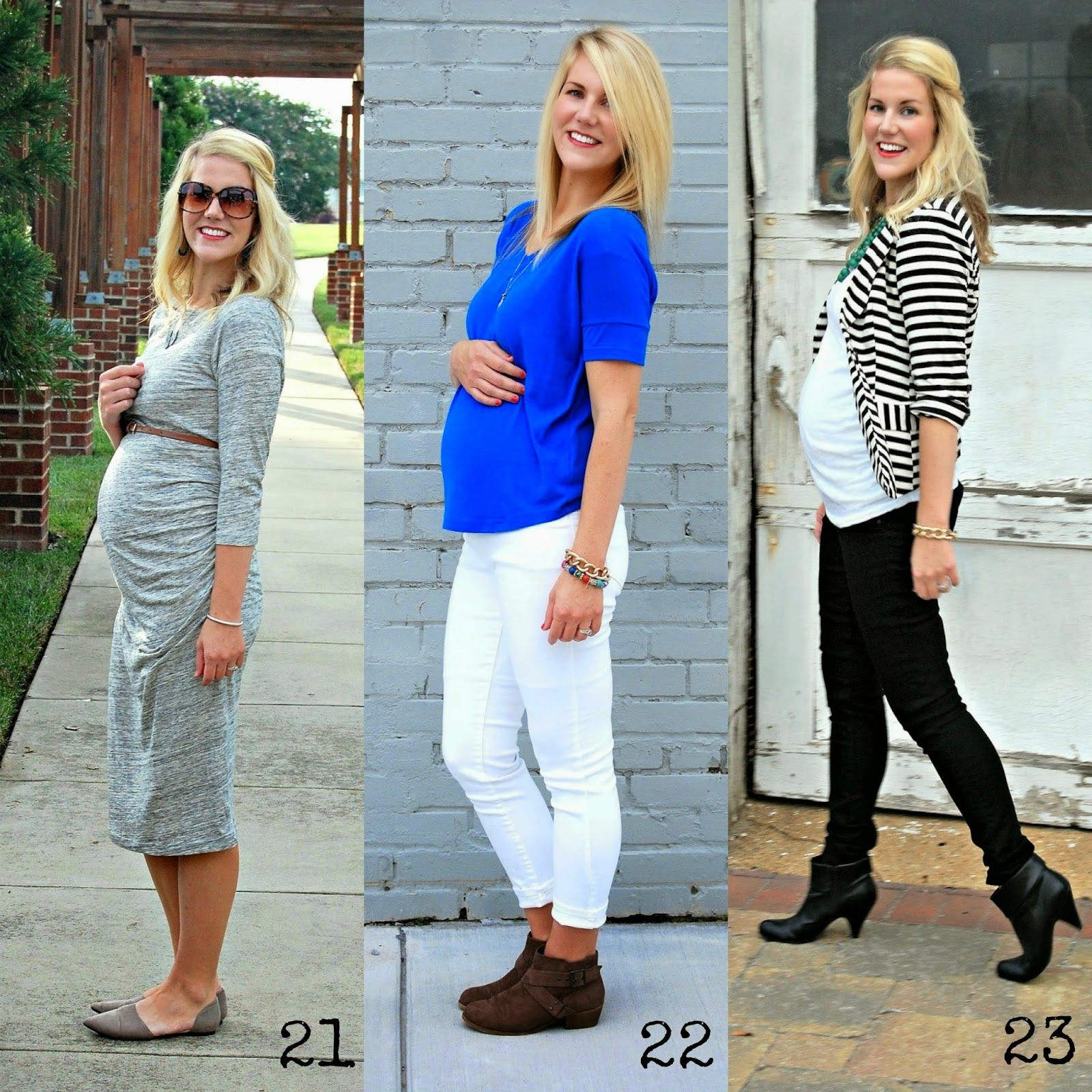 Dancing With Ashley: Dressing the bump: 2nd trimester | Maternity ...