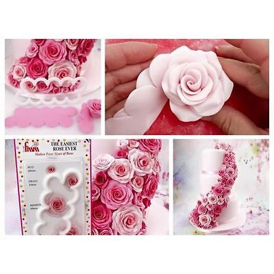The New Amazing ORIGINAL Easiest ROSE Ever Cutter by FMM ...