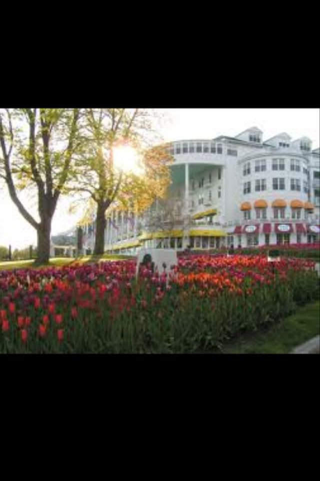 Grand Hotel Mackinac Island-Somewhere In Time Was Filmed