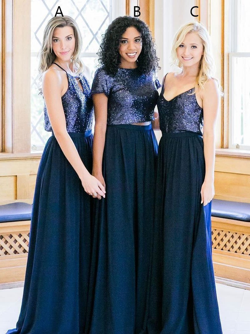 200ab212cd4 Cheap Navy Bridesmaid Dresses