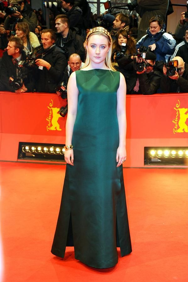 Saoirse Ronan Glows in a Green Valentino Gown at the Berlinale International Film Festival | Trend 911