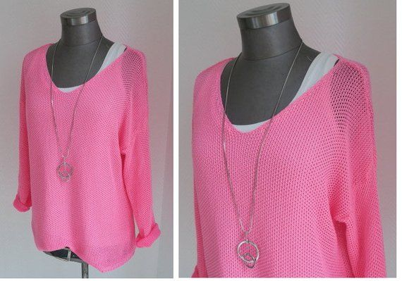 huge discount 884ae eae72 Pullover neon, neonpinker Pulli, neonfarbener Pulli, pinker ...