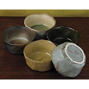 Rustic Small Bowl Set Japanese Dinnerware, Sushi Sets, Asian Dinnerware,  Uniqueu2026