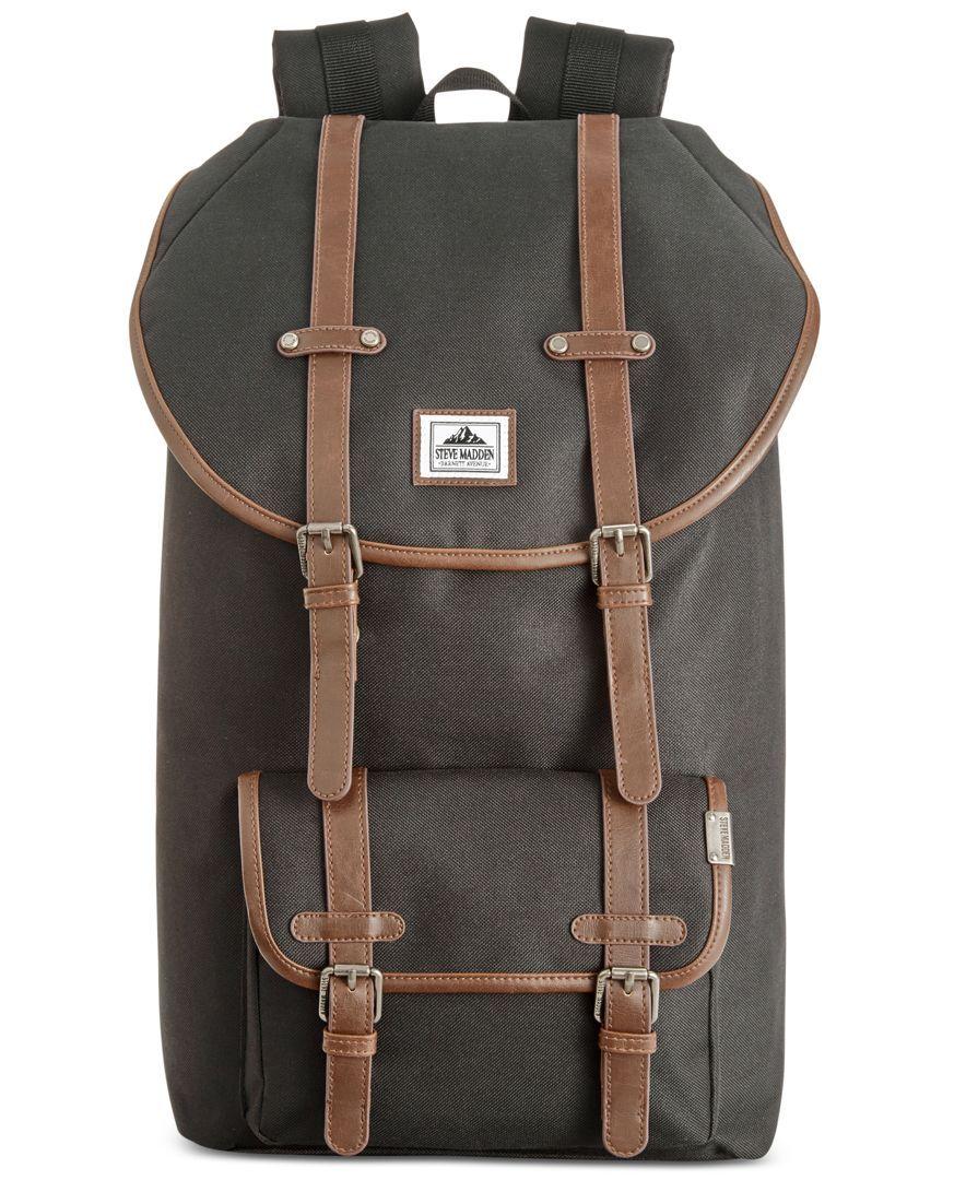 Utility Backpack Steve madden, Steve madden bags, Men's