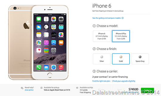 Apple Iphone 2014 Preorders Top 4m In First 24 Hours Gm