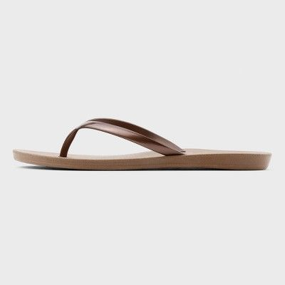 8e172a2ddad Women s Okabashi Shoreline Flip Flop Sandals - Toffee Copper (Toffee Brown)  10