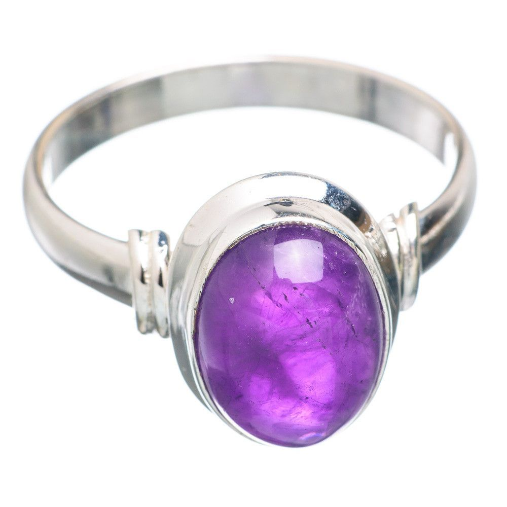 Amethyst sterling silver ring size ring products