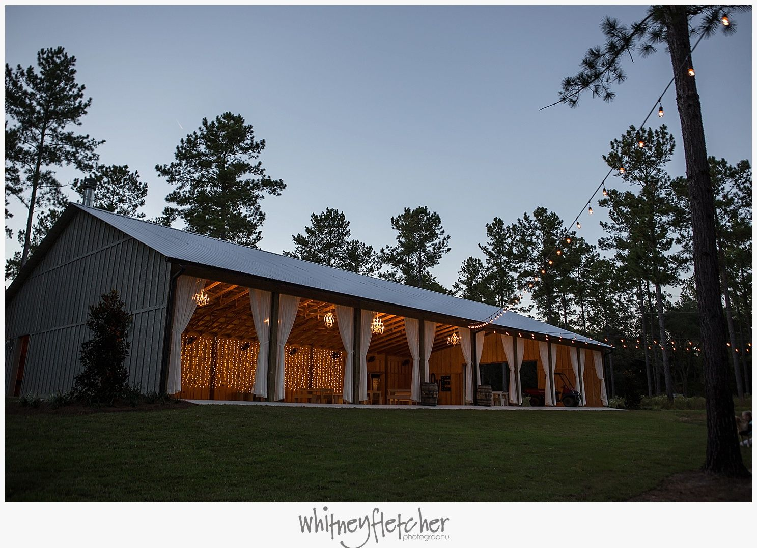 Wedding Venue Located Just Outside Of Tallahassee And Thomasville