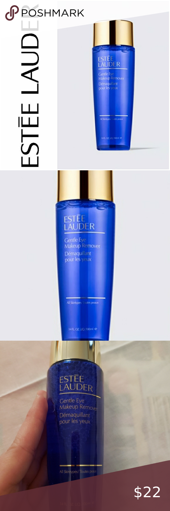 Estee Lauder Gentle Eye Makeup Remover in 2020 Gentle