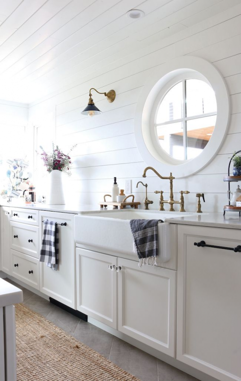 Photo of Small Kitchen Remodel Reveal! – The Inspired Room #bathroomfixtures #bathroom #f…