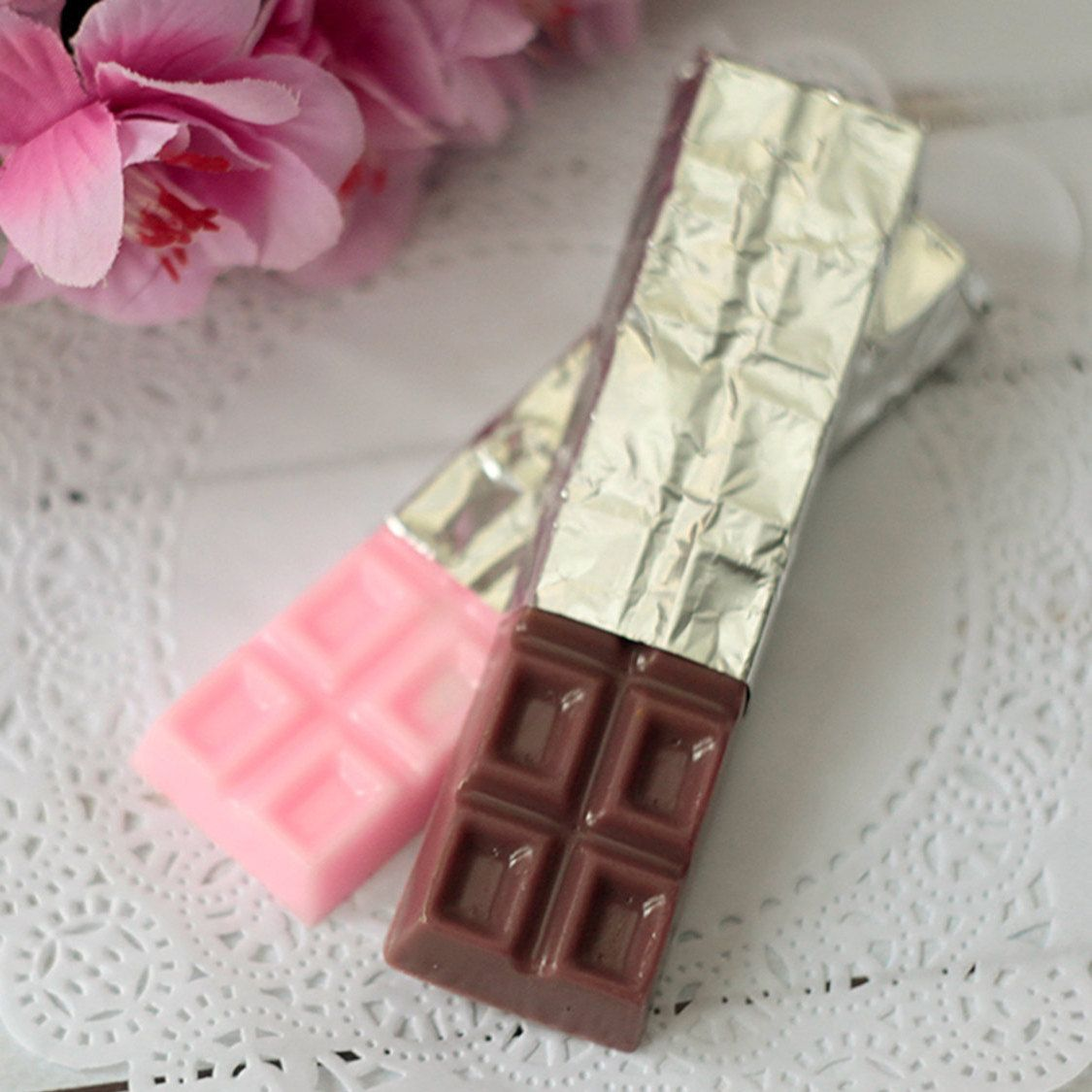 Handmade Food Soap Chocolate Bar Gift For Him Ideas By Giveasmile On Etsy