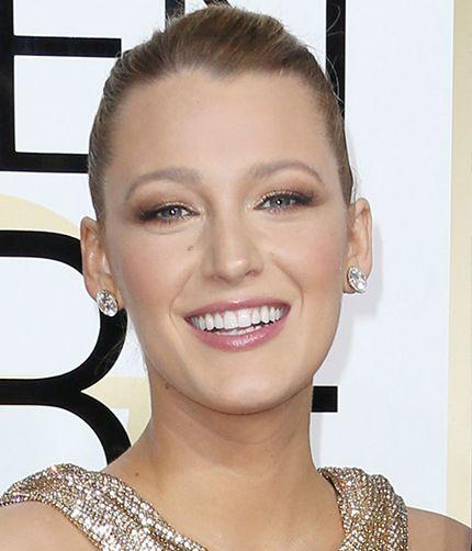 Blake Lively - Golden Globes 2017 best makeup