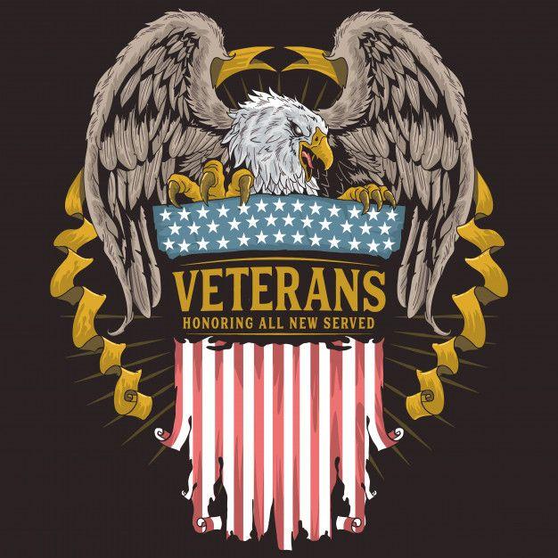AMERICA USA EAGLE Eagle usa flag fire  Premium Vector