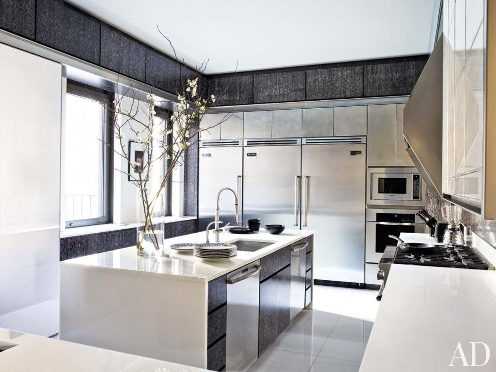 modern kitchen images architectural digest - Google Search | Sleek kitchen, Contemporary kitchen ...