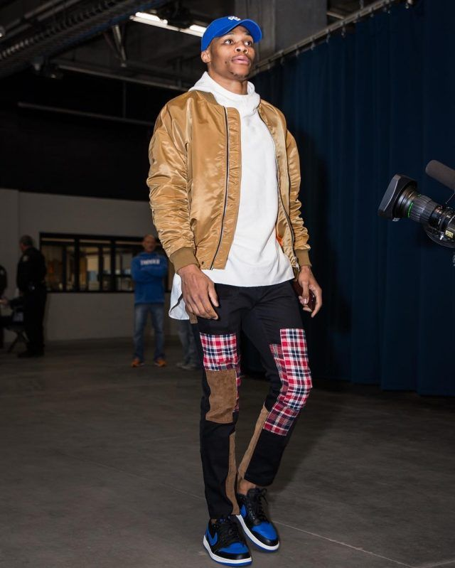 4bdffec862a03a Russell Westbrook Wears Fear of God Jacket