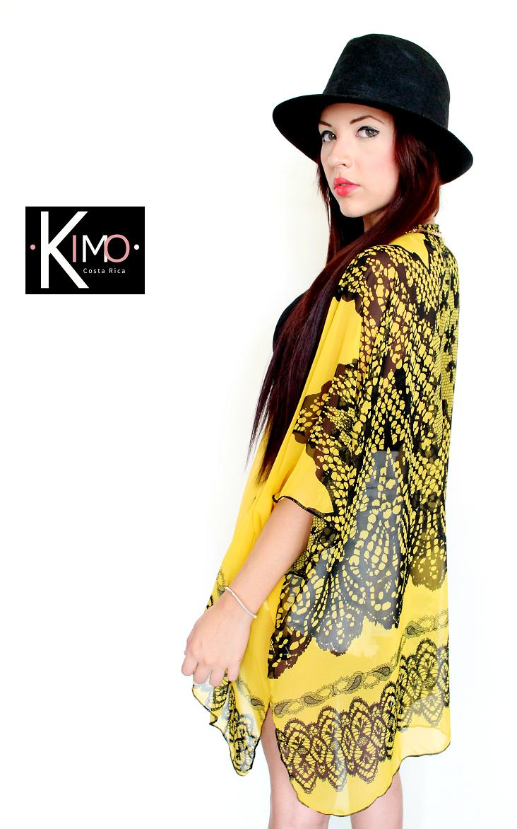 Hermoso kimono, suave chfón, perfecto para playa y ciudad. Marca: KIMO Hecho en costa Rica Whatsapp 70164801
