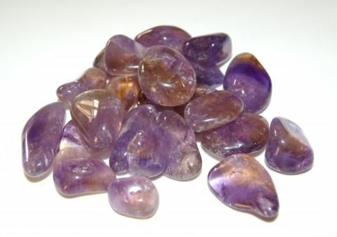 Ametrine is a mixture of Amethyst and Citrine. It brings peace and tranquility. It is good for creativity and inspiration and also change. It removes physical, mental and emotional blocks. It overcomes prejudice, and ignorance.   Ametrine promotes an intellectual understanding of spirituality, It is a fabulous crystal for astral travel, yin/yang balance, and the aura. It relieves tension and is great for meditation