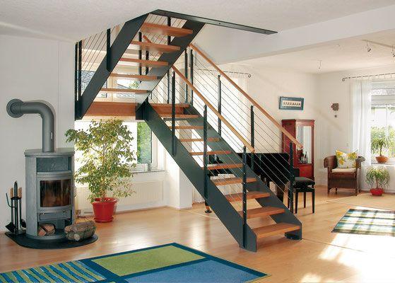 Modell LOFT von Bucher Treppen - statt Stahlseilen aber lieber - exklusives treppen design