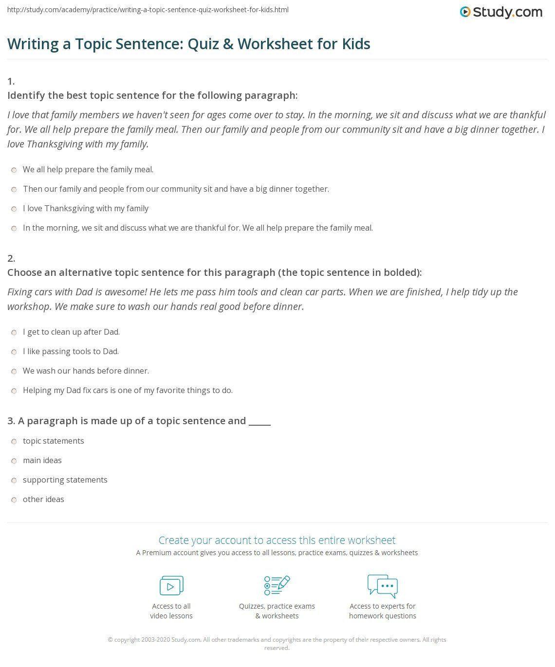 Writing Complex Sentences Worksheet Sentence Writing Practice Worksheet In 2020 Complex Sentences Worksheets Writing Complex Sentences Topic Sentences