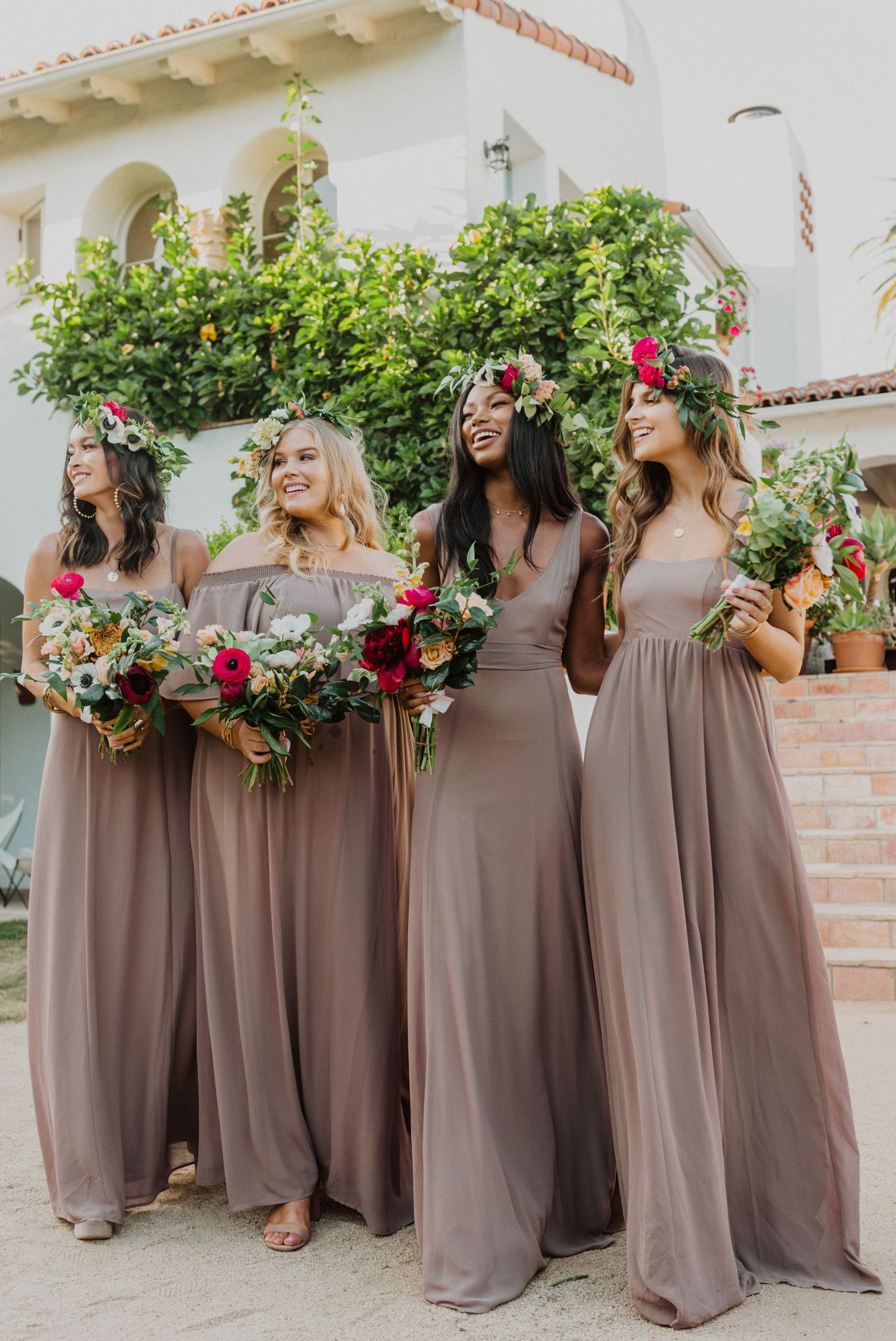 Show Me Your Mumu Mumu Weddings Spring Bridal 2020 Latest Bridesmaid Dresses Bridesmaid Dress Colors Boho Style Wedding