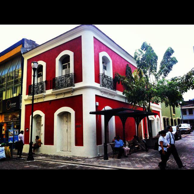 Casona de la Zona Luz en Villahermosa.