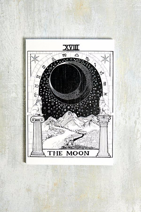 The Moon Tarot Notebook The Moon Tarot The Moon Tarot Card Tarot Cards Art