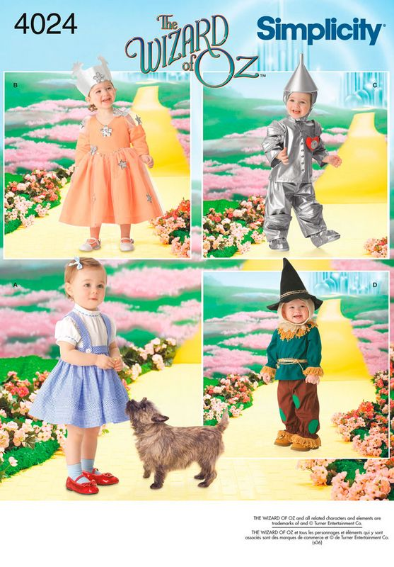 Toddler Wizard Of Oz Costumes Patterns I Want Pinterest Cool Toddler Halloween Costume Patterns