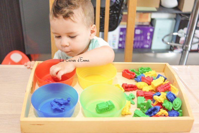 aujourd 39 hui on trie les couleurs maman pinterest maman les couleurs et activit. Black Bedroom Furniture Sets. Home Design Ideas