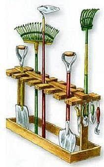 stojak na narzędzia - #aufbewahrung #na #narzędzia #stojak #gardeningtools