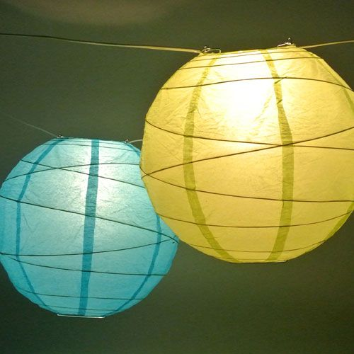 30 ft white c9 string light with 14 in bright paper lanterns and 30 ft white c9 string light with 14 in bright paper lanterns and clear bulbs aloadofball Gallery