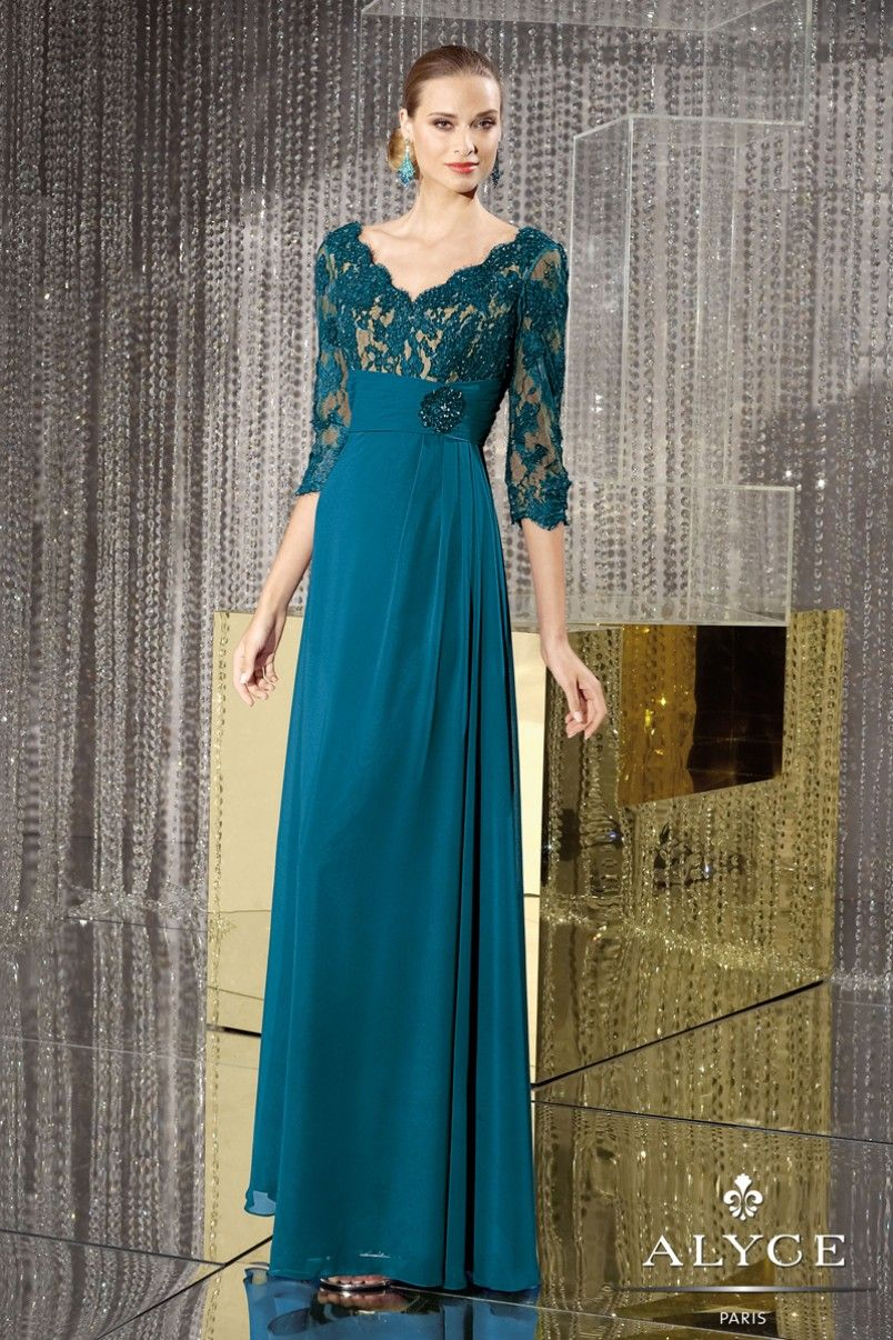 Evening Dresses<BR>Mother of the Bride Dresses by Jean De Lys for ...
