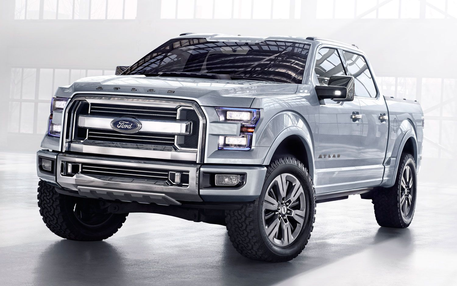 2015 North America Car Show Ford F 150