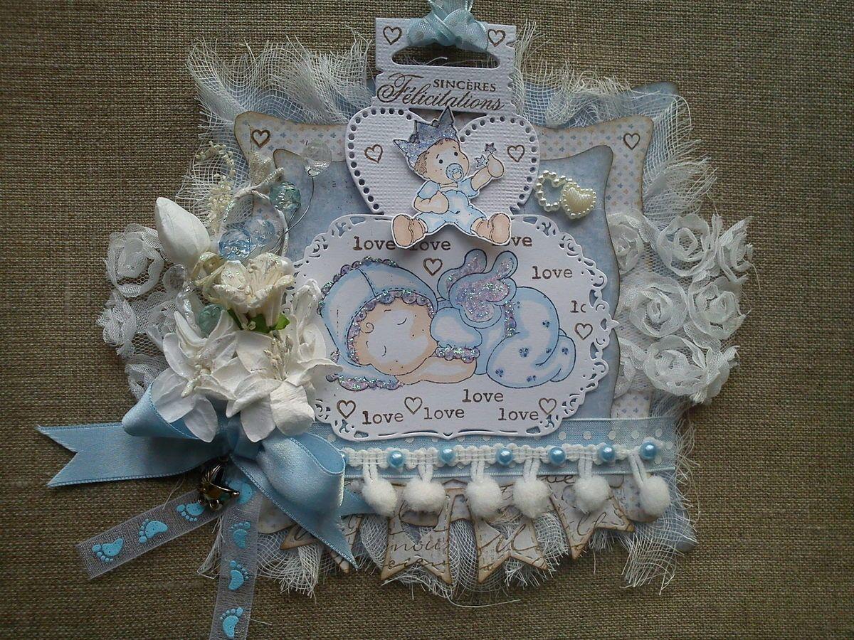 Carte de naissance Magnolia ( version garçon ) par Athéna