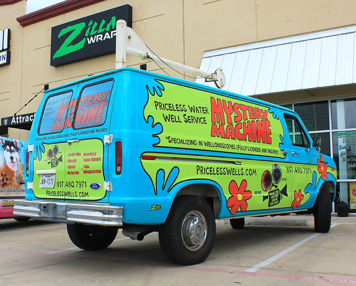 Vinyl Van Wraps Dallas Van wrap, Vans, Funny advertising