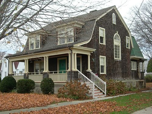 Gambrel Style Houses A Gallery On Flickr Gambrel Style