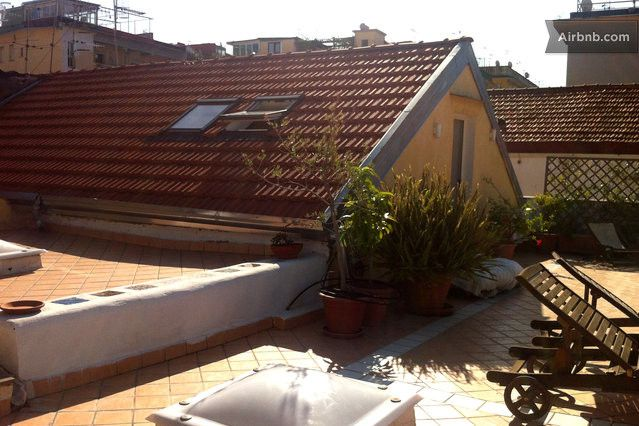 the house on the roof garden