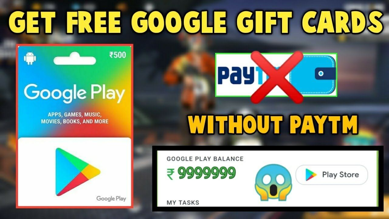 How To Get Redeem Code Google Play For Free