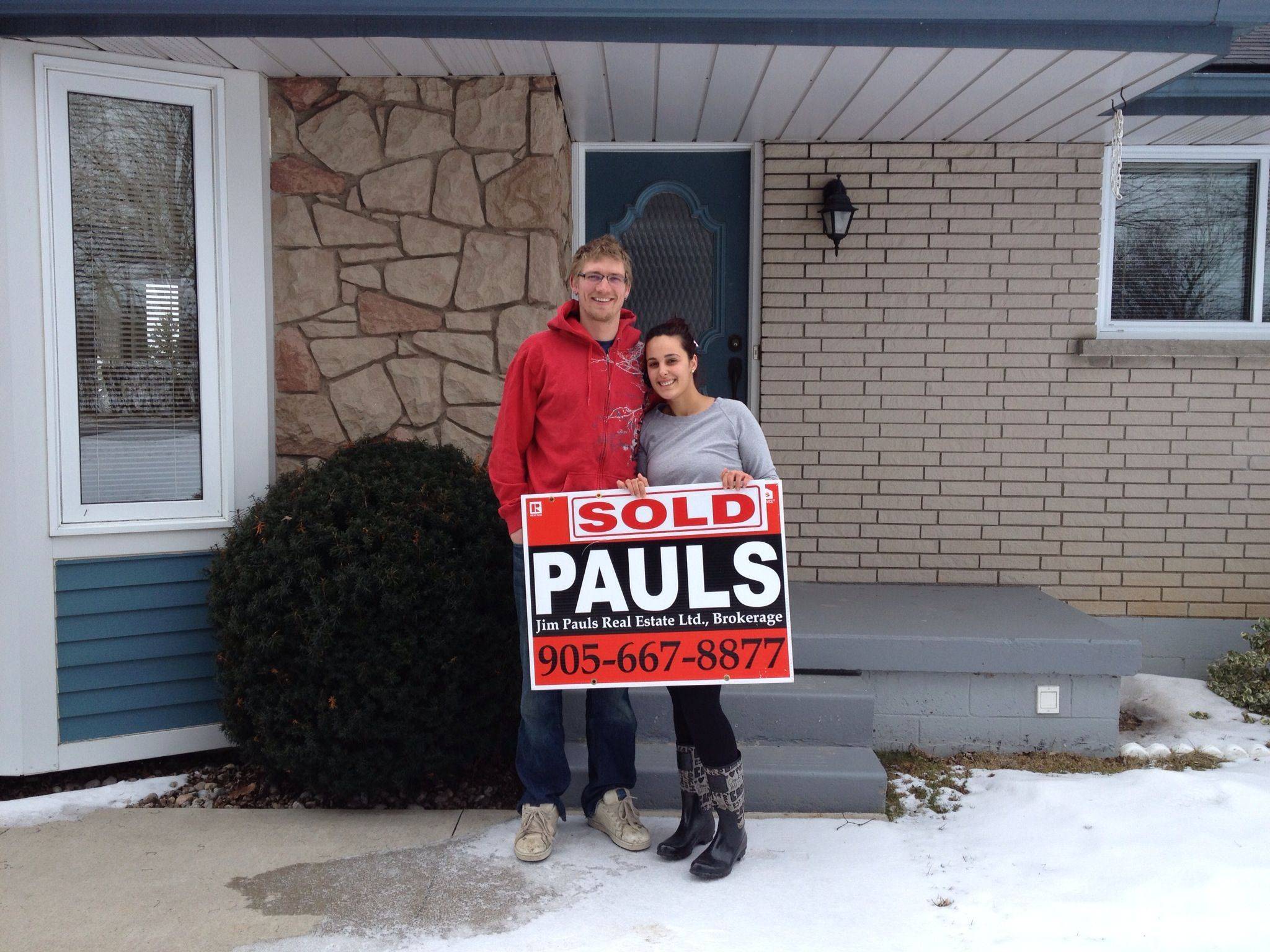 Aaron & Isabel first time home buyers!!