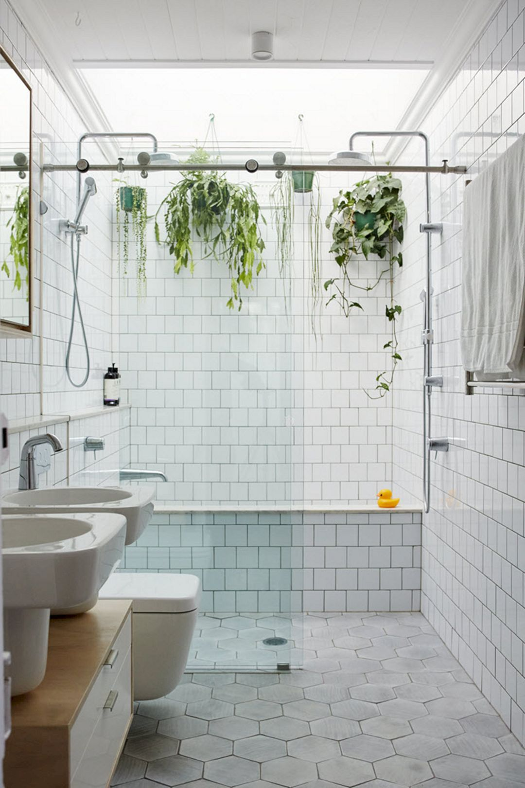 Beautiful Bathroom With Hanging Plants Ideas Bathroomhangingplants Bathroomwithhangingplan Amazing Bathrooms Bathroom Plants Beautiful Bathrooms