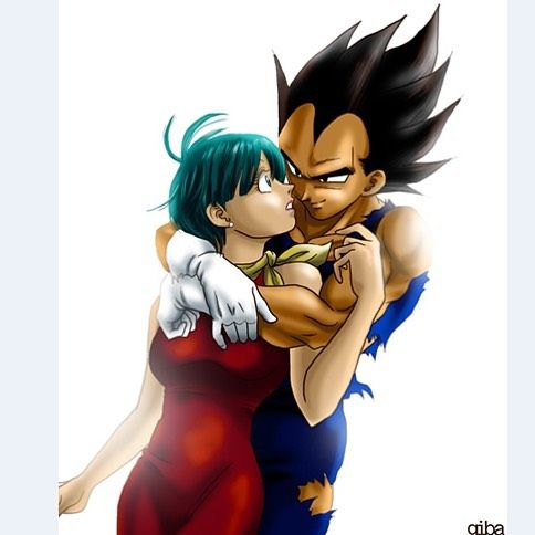 Vegeta And Bulma On Instagram Comment Your First And Last Emoji Credits To The Artist Vegeta And Bulma Dragon Ball Art Dragon Ball Wallpapers