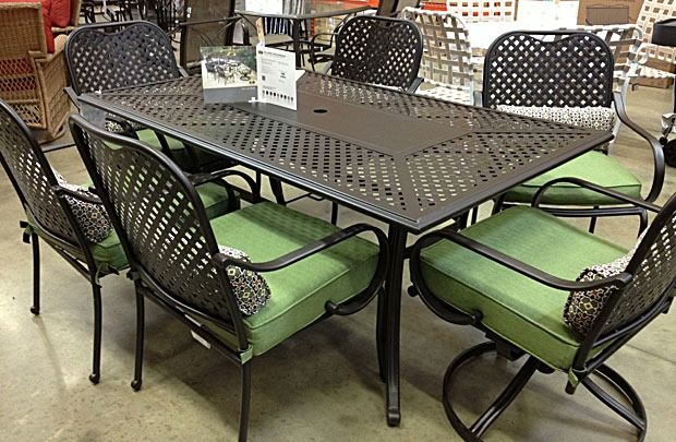 outdoor furniture home depot. Ad: Checking Out The Patio Furniture On My Trip To @Home Depot # Outdoor Home P