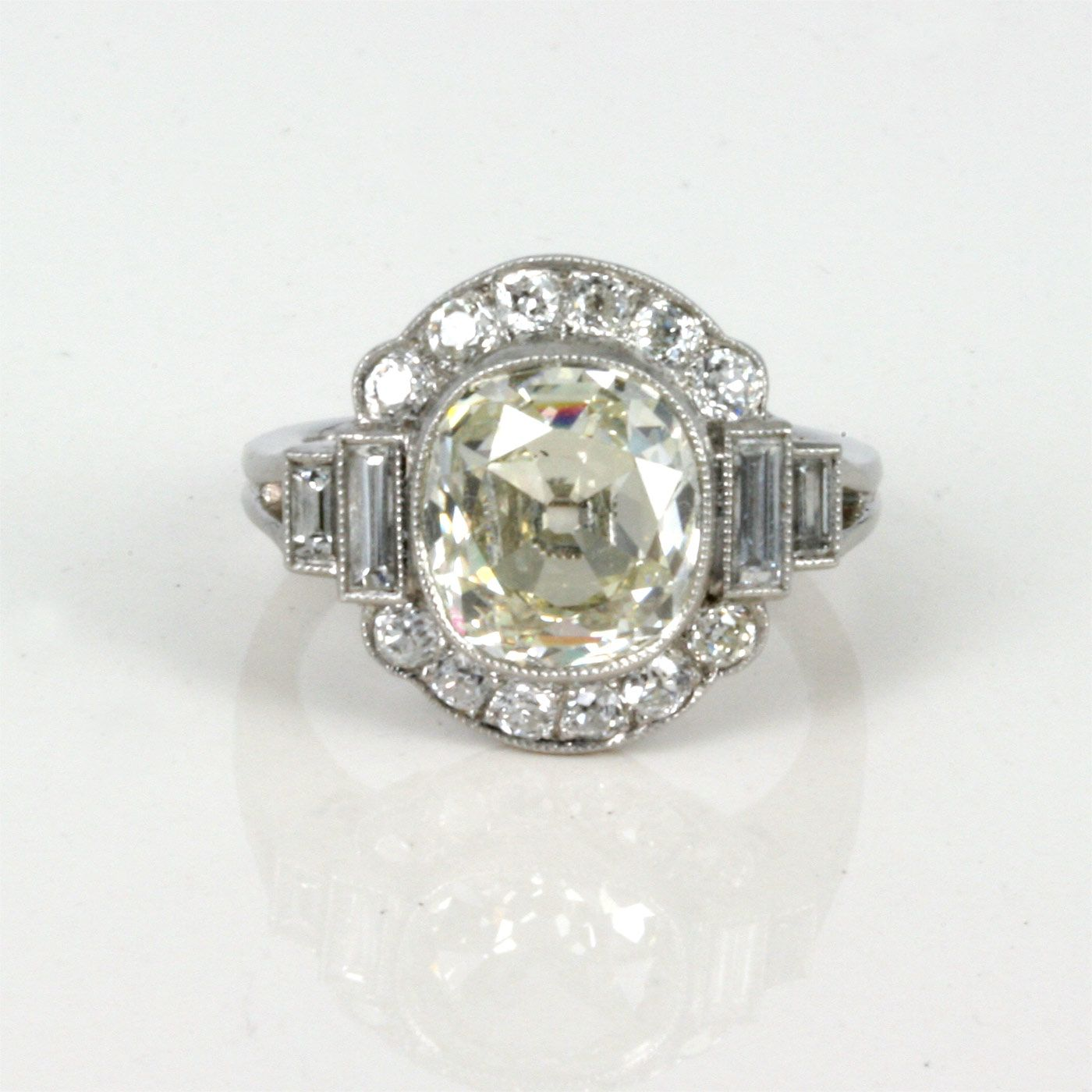 art deco wedding ring Art deco diamond