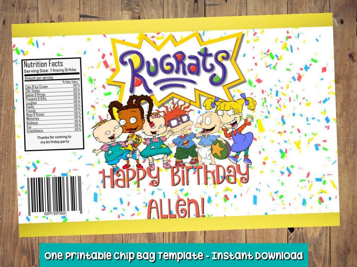 Rugrats Happy Birthday Topsimages