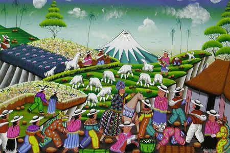 Ecuadorian Art | Global Talent Project