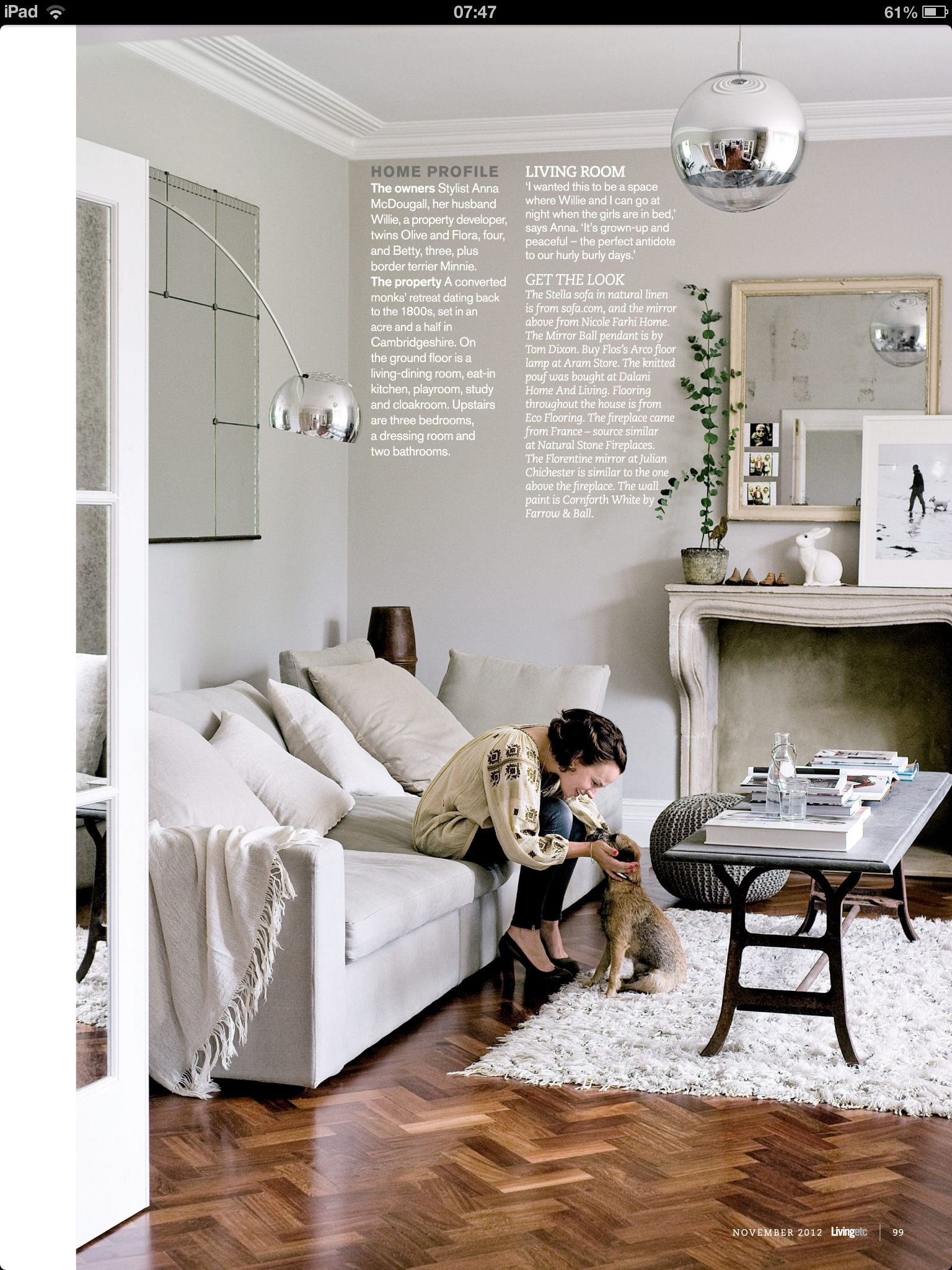 Farrow And Ball Bordeaux guest post: decorating with soft grey | bordeaux | home
