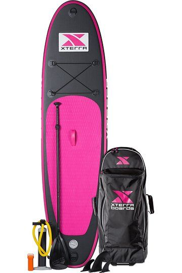 Xterra Paddle Boards >> Xterra Boards Stand Up Paddle Board Bundle Pink 10 My Kinda Fun