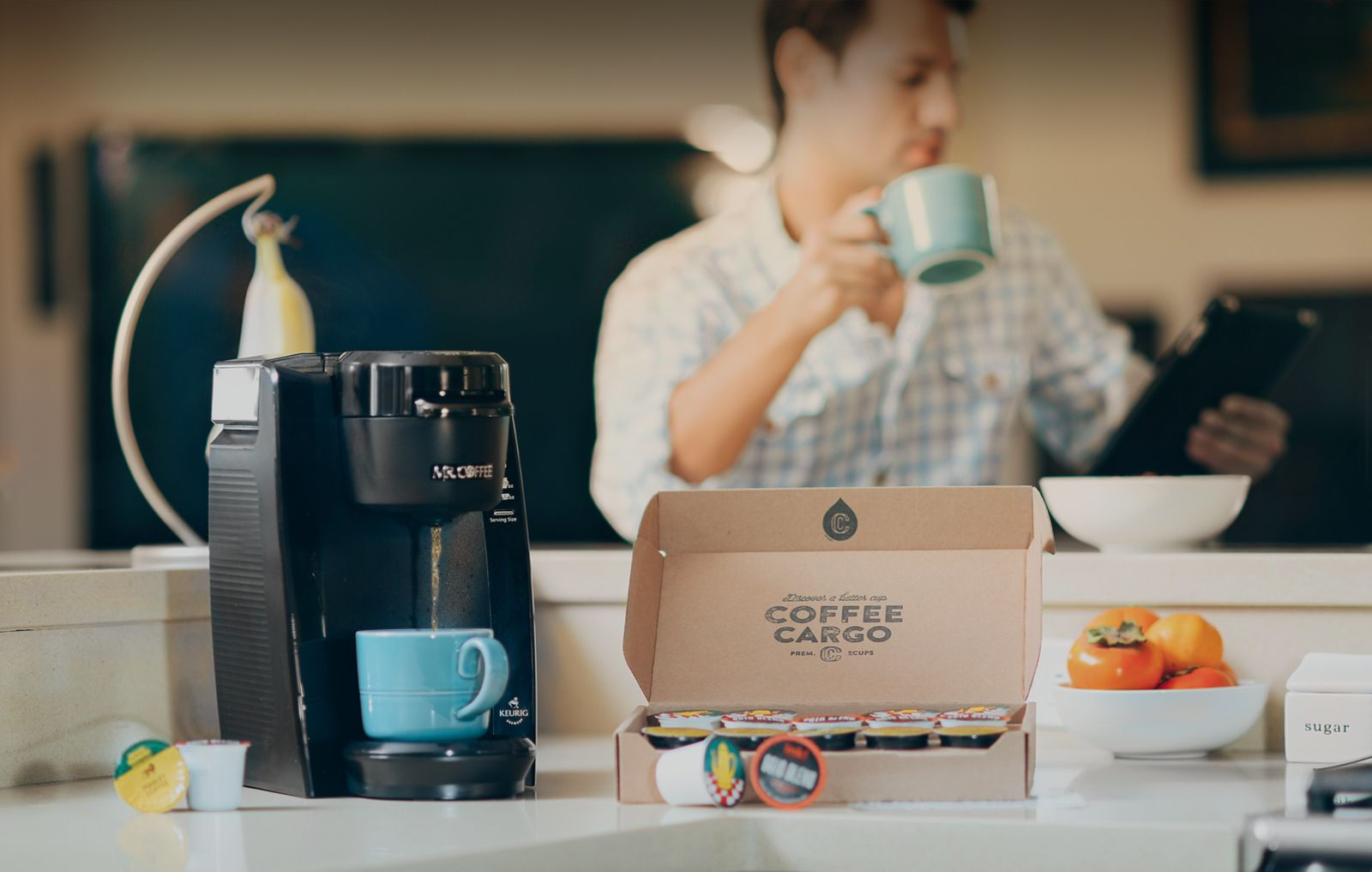 K Cup Coffee Delivery Subscription Box Coffee Cargo Coffee Delivery Coffee Can Crafts Coffee
